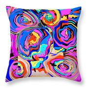 Abstract Art Painting #2 Throw Pillow