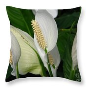 Flower Art Throw Pillow