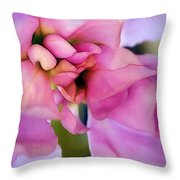 Flower At Twilight Throw Pillow