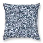 Flower Bundle Throw Pillow