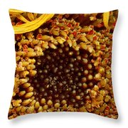 Flower - Daisy - In Other Worlds Throw Pillow
