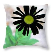 Flower - Daisy - Photopower 327 Throw Pillow