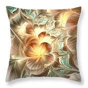 Flower Daze Throw Pillow