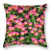 Flower Garden 36 Throw Pillow