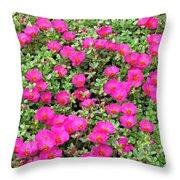 Flower Garden 38 Throw Pillow