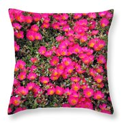 Flower Garden 39 Throw Pillow