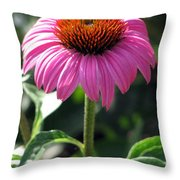 Flower Garden 48 Throw Pillow