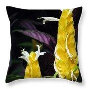 Flower Garden 51 Throw Pillow
