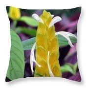 Flower Garden 52 Throw Pillow