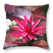 Flower Garden 66 Throw Pillow