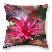 Flower Garden 67 Throw Pillow