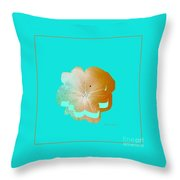 Flower Glow Throw Pillow