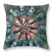 Flower G.o. Throw Pillow