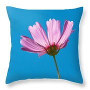 Flower - Growing Up In Philadelphia Throw Pillow