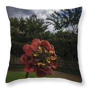 Flower In Bloom Throw Pillow