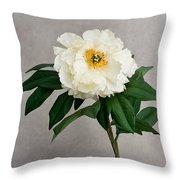 Flower In Vase Throw Pillow