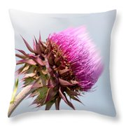 Flower Massage Throw Pillow