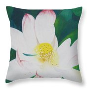Flower Nectar Throw Pillow