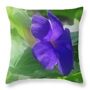 Flower No. 2 Throw Pillow