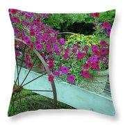 Flower Pot 2 Throw Pillow