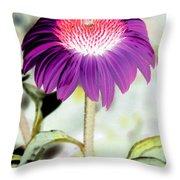 Flower Power 1357 Throw Pillow