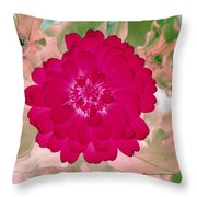Flower Power 1441 Throw Pillow
