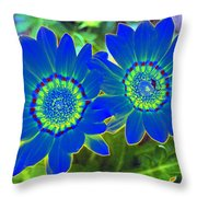 Flower Power 1451 Throw Pillow