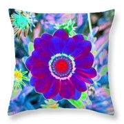 Flower Power 1458 Throw Pillow