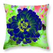 Flower Power 1460 Throw Pillow