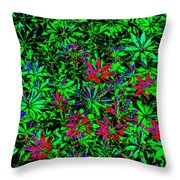 Flower Power Deluxe Throw Pillow