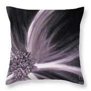Flower Romance II Throw Pillow by LCS Art