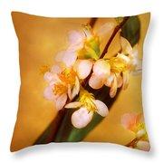 Flower - Sakura - A Touch Of Spring Throw Pillow