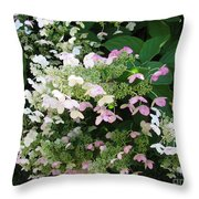 Flower Spray Throw Pillow