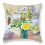 Flower Still Life          Throw Pillow