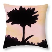 Flower - Sunrise Throw Pillow