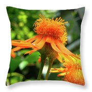 Flower Top Throw Pillow