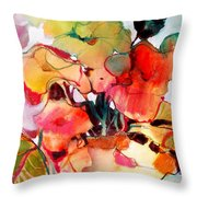 Flower Vase No. 2 Throw Pillow