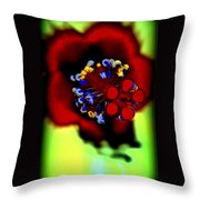 Flower With'in Throw Pillow