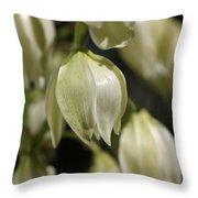 Flower-yacca-bloom Throw Pillow