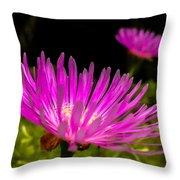 Flower1 Throw Pillow by Fabio Giannini