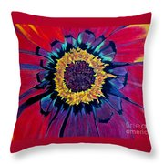 Flowerburst Throw Pillow