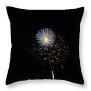 Flowering Burst Throw Pillow