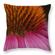 Flowering Inferno Throw Pillow