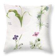 Flowers 1931 Throw Pillow
