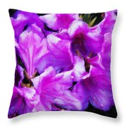 Flowers 2078 Acanthus Throw Pillow