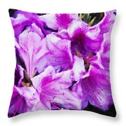 Flowers 2078 Neo Throw Pillow