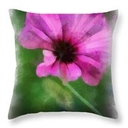 Flowers Are Gods Way 01 Throw Pillow