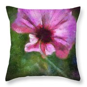 Flowers Are Gods Way 02 Throw Pillow