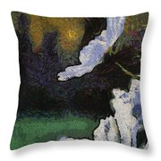 Flowers Are Loves Truest Language 04 Throw Pillow