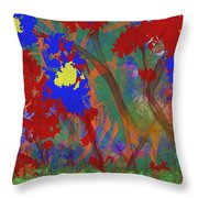 Flowers At Rest Throw Pillow